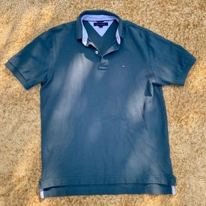 Vintage Tommy Hilfiger Green Polo